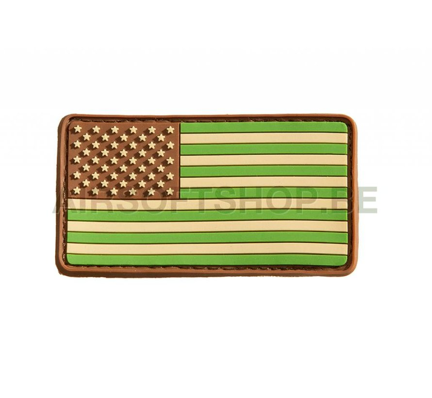 US Flag PVC Patch (Multicam)