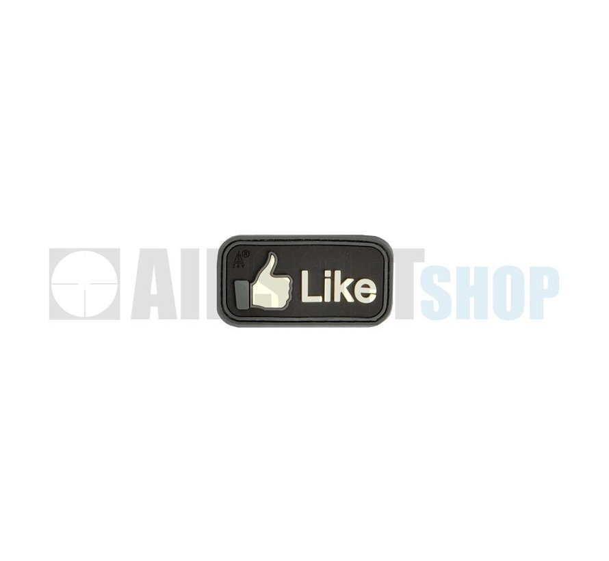 Facebook Like PVC Patch