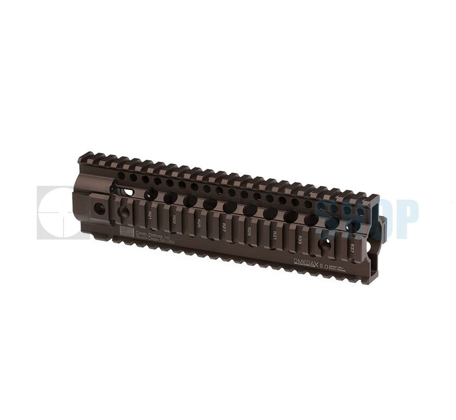 "Daniel Defense OmegaX Rail 9"" (Desert)"