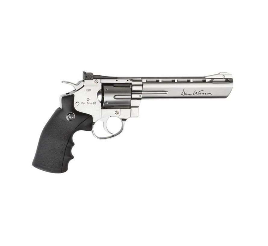 "Dan Wesson 6"" Revolver Chrome (1.9 Joule)"
