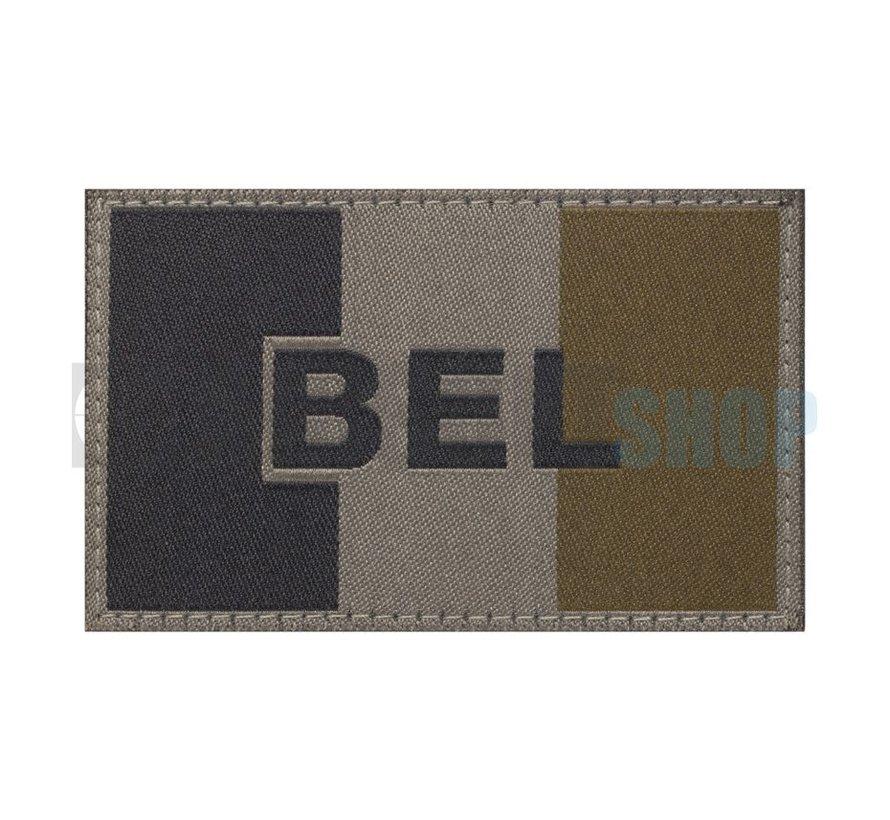 Belgische Vlag Patch (RAL7013)