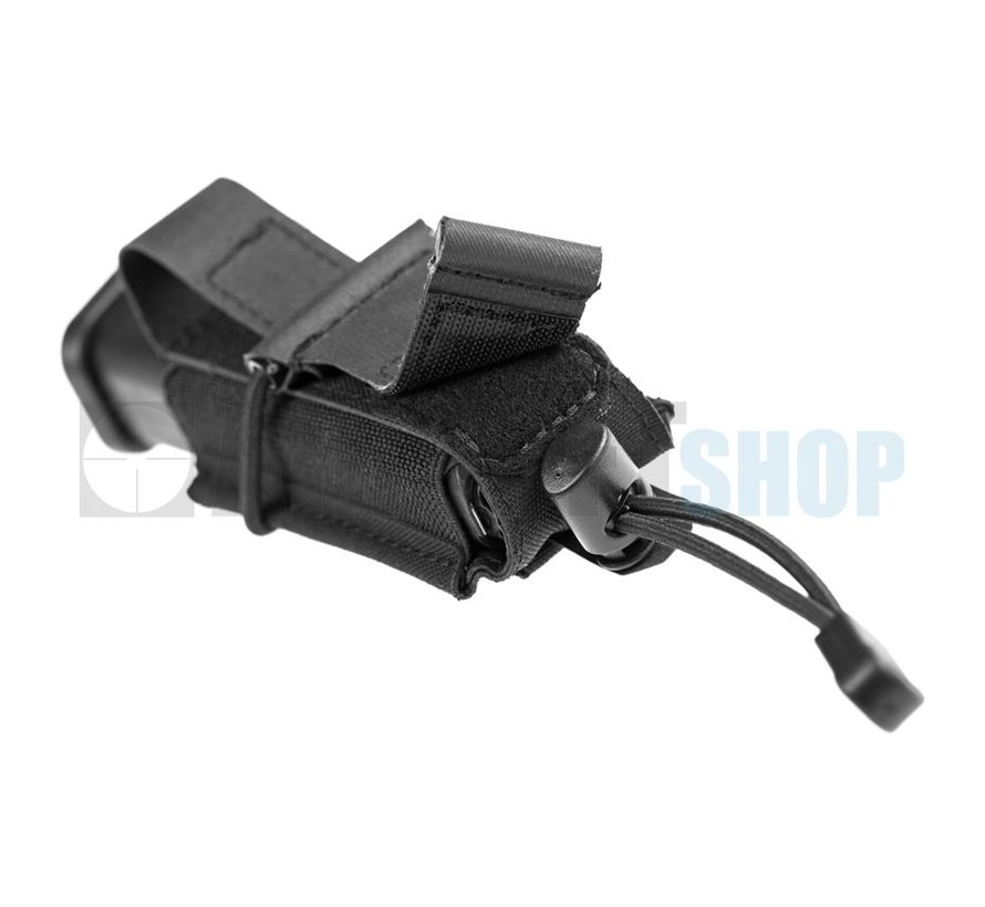 9mm Backward Flap Mag Pouch (Black)