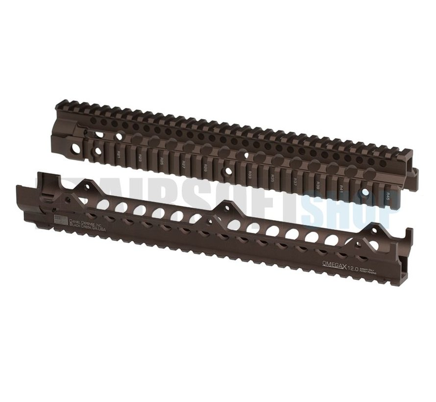 "Daniel Defense OmegaX Rail 12"" (Desert)"