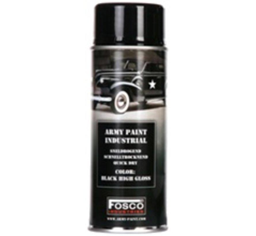 Spray Paint Shiny Black 400ml