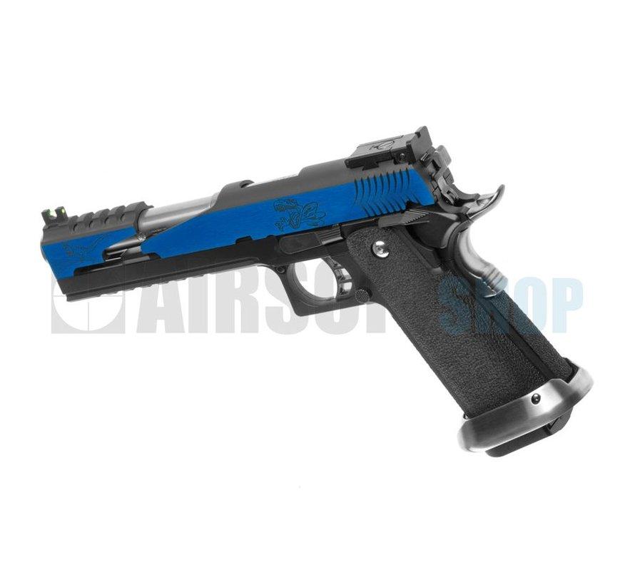 Hi-Capa 6 T-Rex Custom Blue GBB