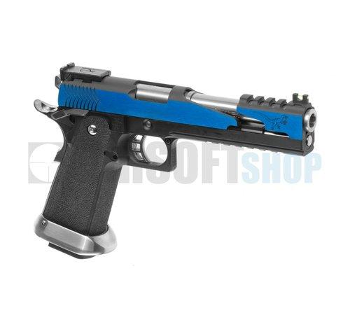 WE Hi-Capa 6 T-Rex Custom Blue GBB