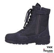 101 Inc Sniper Boots SideZip (Wolf Grey)