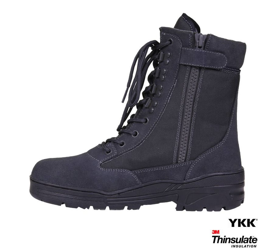 Sniper Boots SideZip (Wolf Grey)
