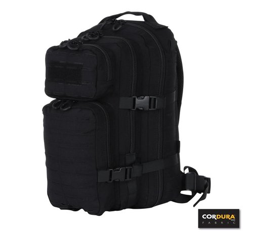 101 Inc 1-Day Assault Backpack LQ16173 (Black)