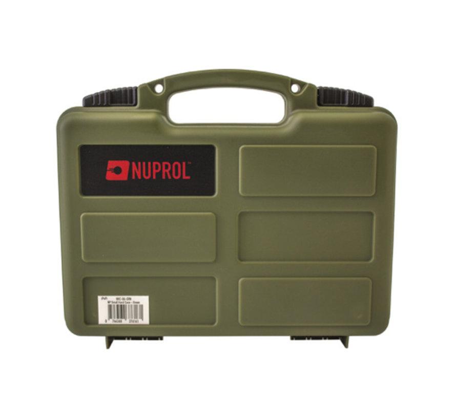 Pistol Small Hard Case (Green)