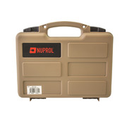 NUPROL Pistol Small Hard Case (Tan)