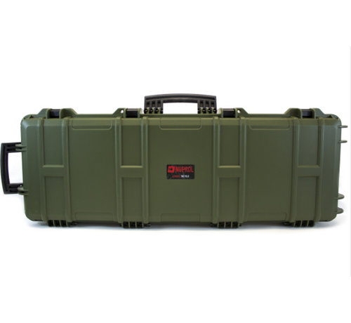 NUPROL Large Hard Case (Green) - PLUCK FOAM