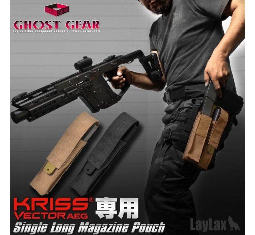 Single Magazine Pouch Kriss Vector (Black)