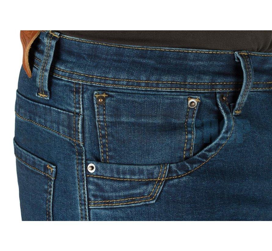 Blue Denim Tactical Flex Jeans (Sapphire)
