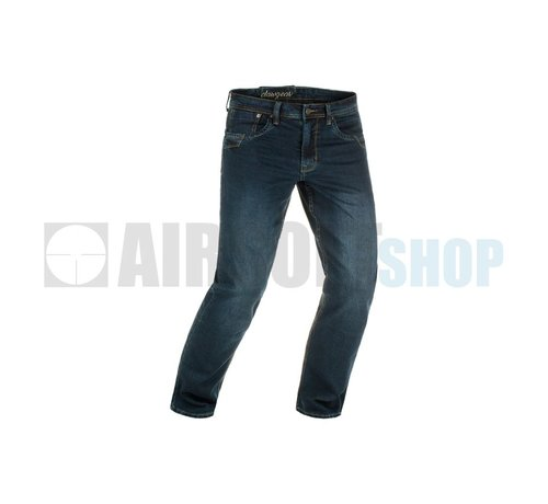 Claw Gear Blue Denim Washed Tactical Flex Jeans (Midnight)