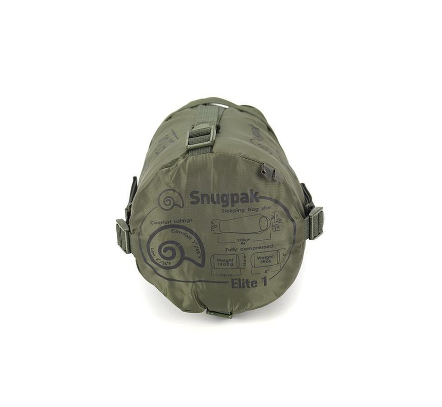 Softie Elite 1 Sleeping Bag (Olive)