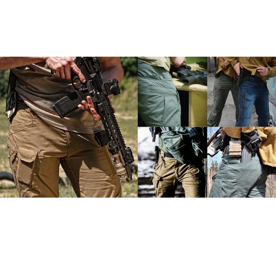 Urban Tactical Pants (Polycotton Ripstop) (Mud Brown)