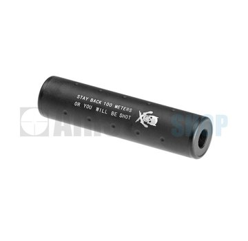 Pirate Arms 130x35 Stubby Silencer CW/CCW (Black)