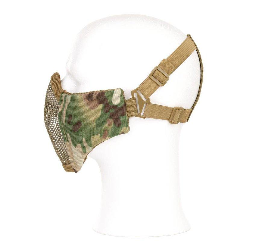 Nylon / Mesh Face Mask (Olive Drab)