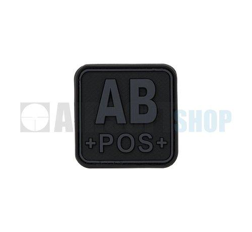 JTG Bloodtype Square PVC Patch AB POS (Blackops)