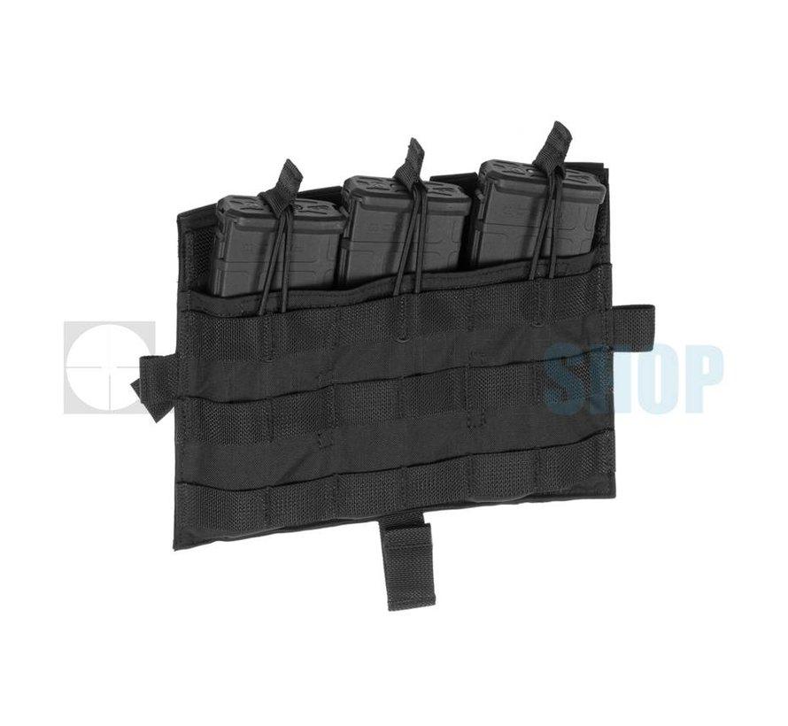 AVS/JPC MOLLE Front Flap M4 (Black)