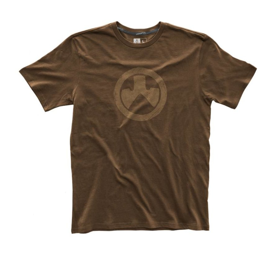 Fine Cotton Topo T-Shirt (Dark Brown)