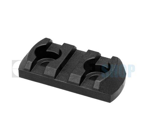 Magpul M-Lok Polymer Rail Section 3 Slots (Black)