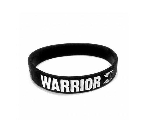 Warrior Silicone Wrist Band (Black)