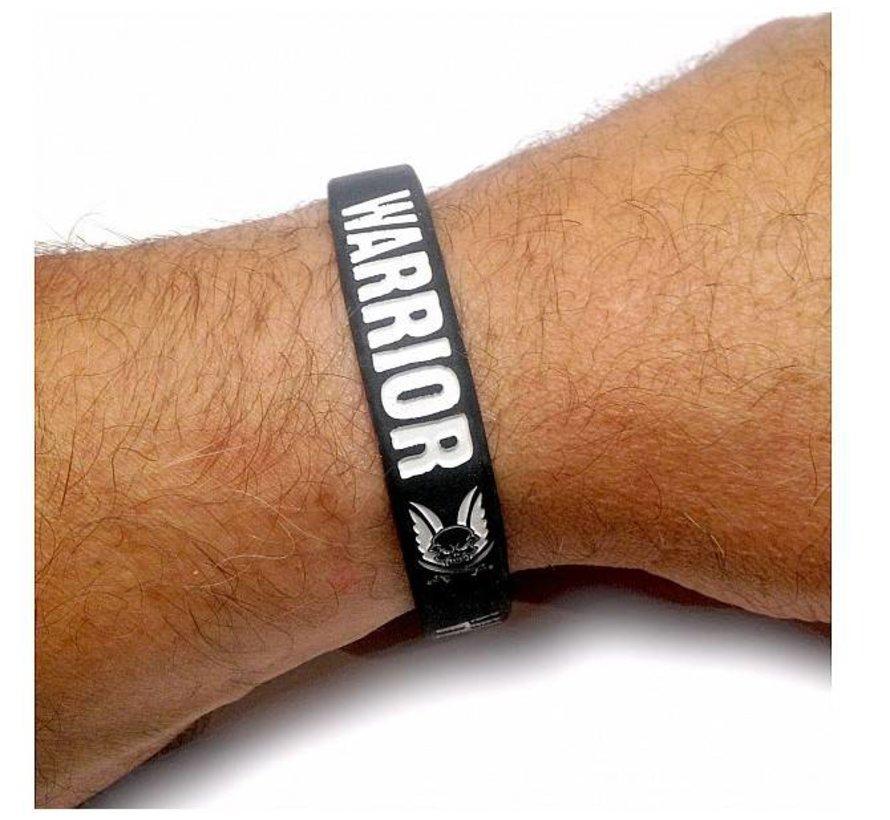 Silicone Wrist Band (Black)