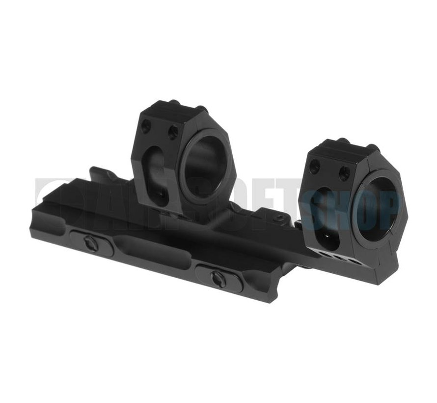 Tactical Top Rail Extended Mount Base 25.4mm/30mm (Black)