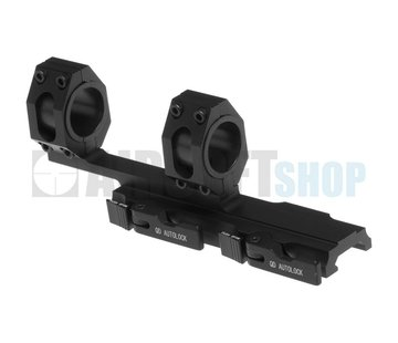 Aim-O Tactical Top Rail Extended Mount Base 25.4mm/30mm (Black)