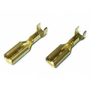 JeffTron Motor / Mini Fuse Connectors 2.8mm (Pair)