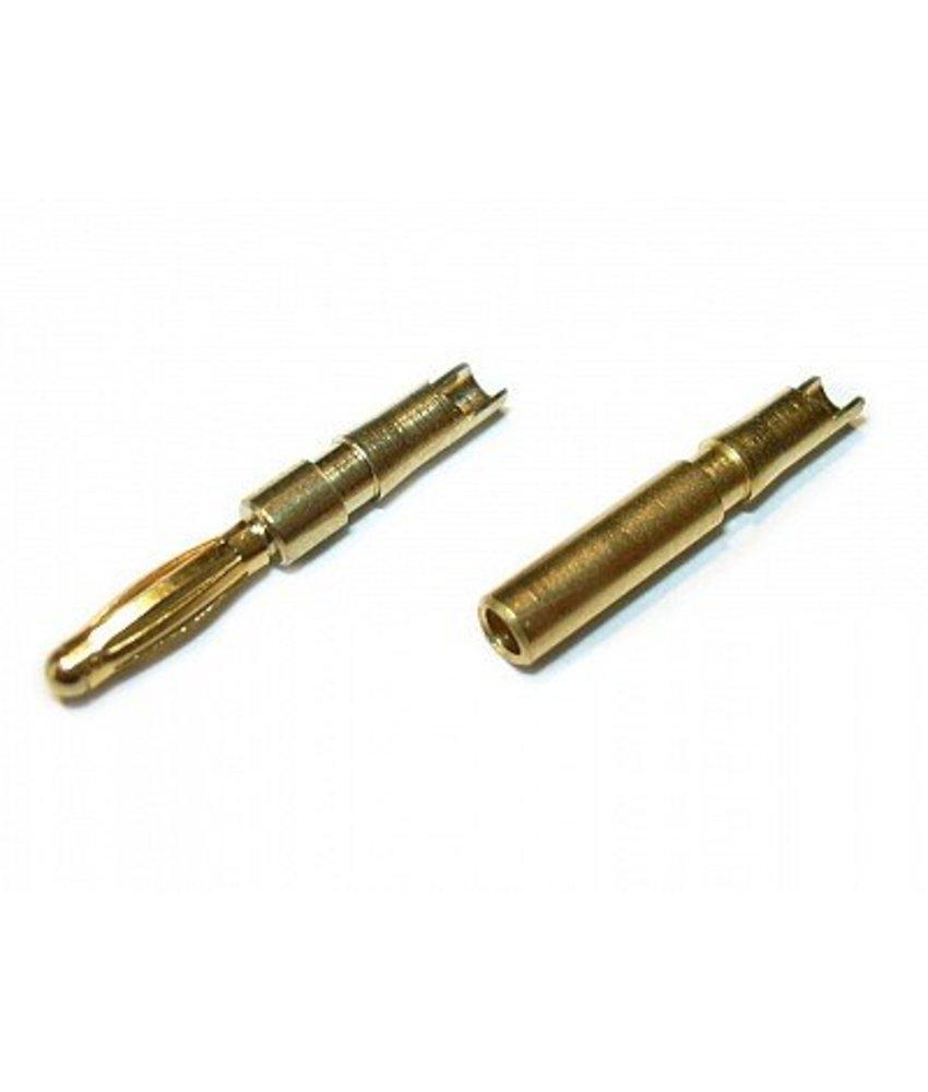 JeffTron Bullet Connectors 2mm (Pair)