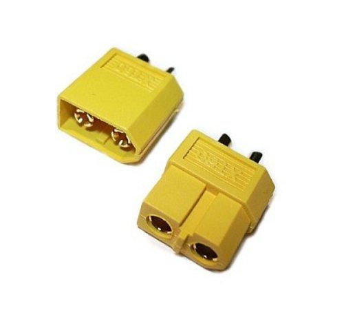 JeffTron XT60 Connectors (Pair)