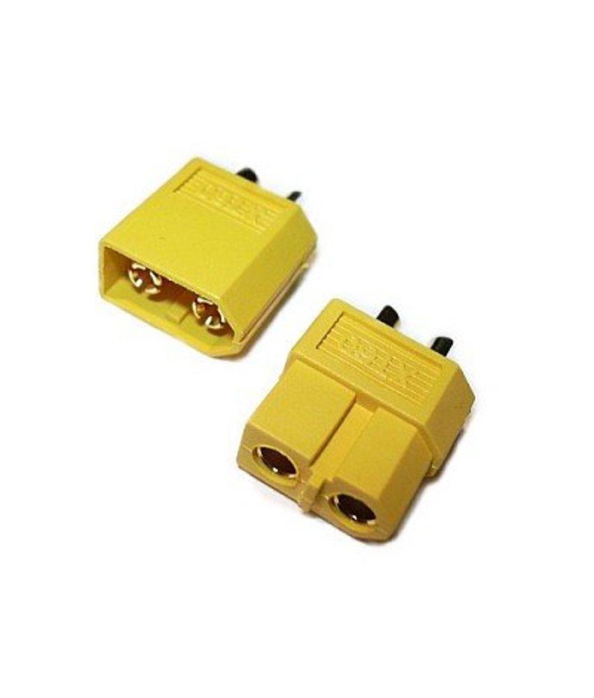 JeffTron XT60 Connectors (Pair)