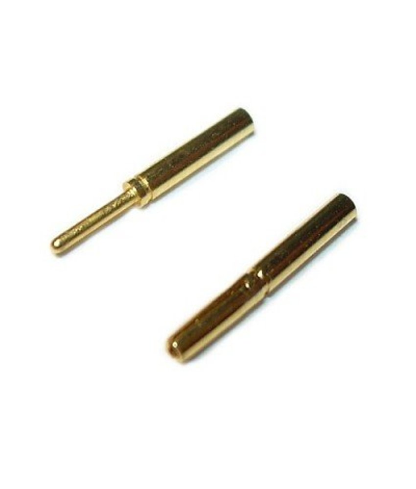 JeffTron Bullet Connectors 0,8mm (Pair)
