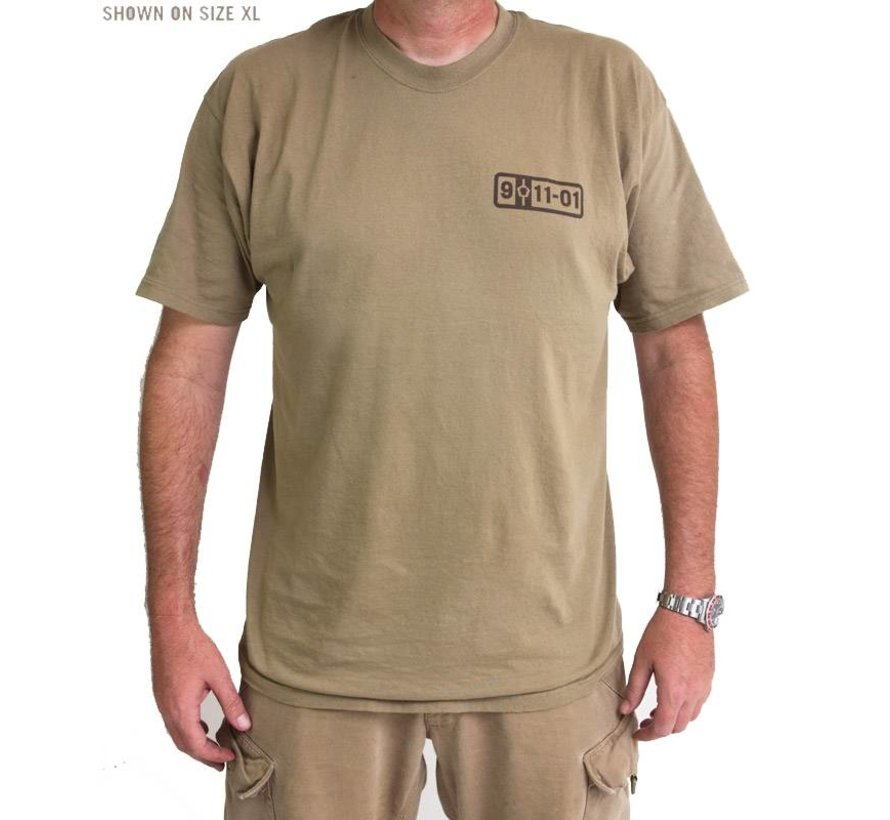 5-01-11 T-Shirt (Dusty Brown)
