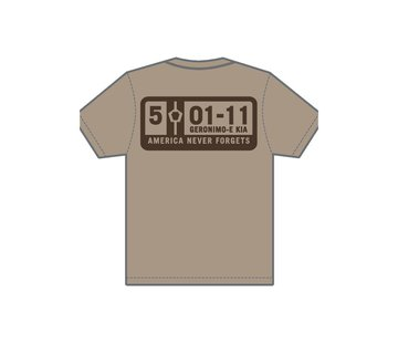 MIL-SPEC MONKEY 5-01-11 T-Shirt (Dusty Brown)