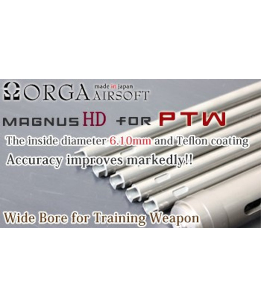 "Orga Magnus 6.10mm Inner Barrel for PTW (196mm / 7.5"")"