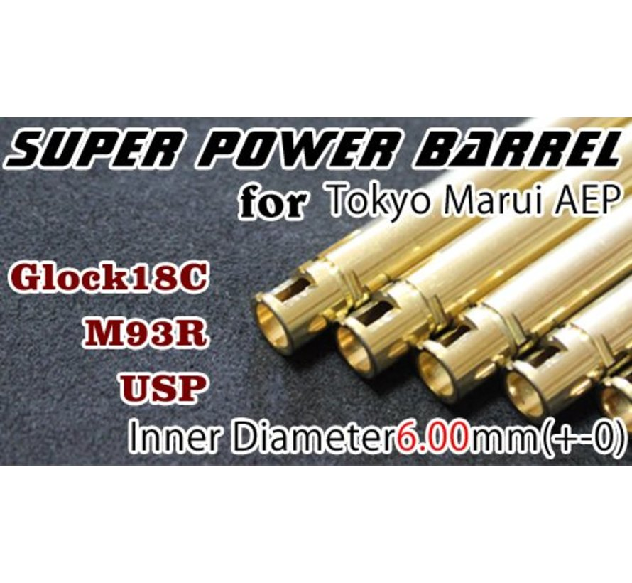 TM18C AEP Super Power 6.00mm Barrel
