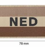 Claw Gear Nederlandse Vlag Patch (RAL 7013)