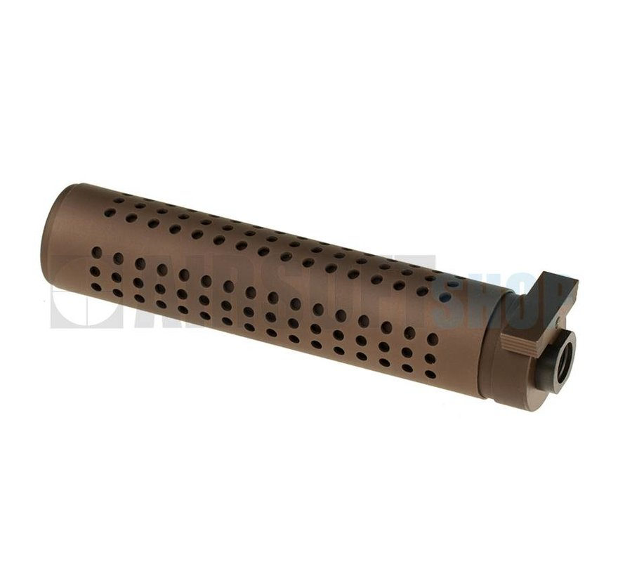 KAC QD 175mm Silencer CCW (Tan)