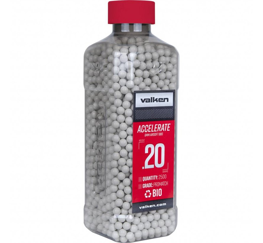 ACCELERATE Bio BB 0,20g White (2500rds)