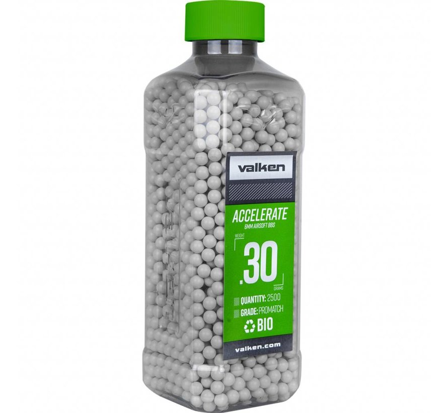 ACCELERATE Bio BB 0,30g White (2500rds)