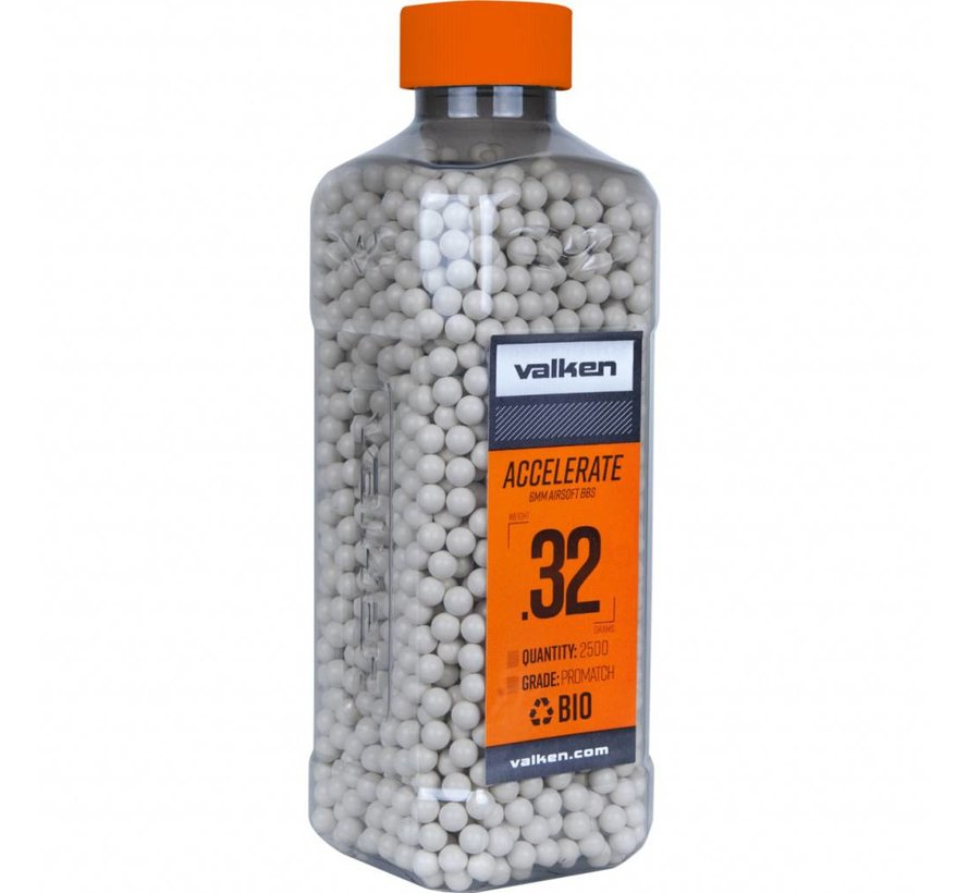 ACCELERATE Bio BB 0,32g White (2500rds)