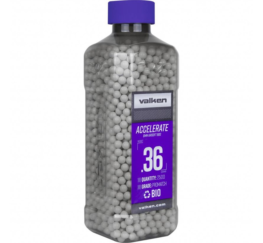 ACCELERATE Bio BB 0,36g White (2500rds)