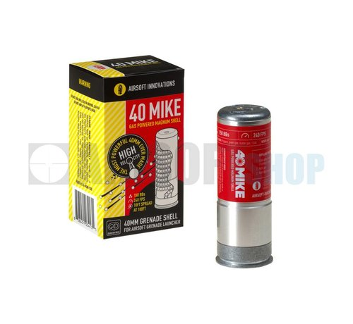 A.I. 40 Mike Gas Magnum BB Grenade Shell