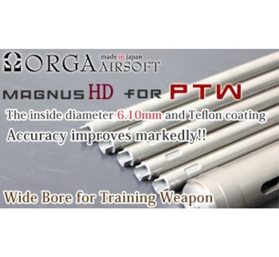 Magnus HD 448mm Barrel 6.10mm Complete System for Systema PTW M4
