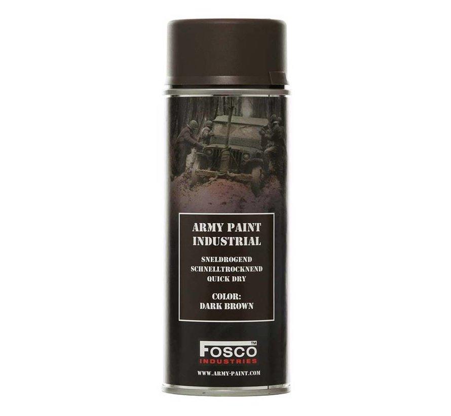 Spray Paint Dark Brown 400ml