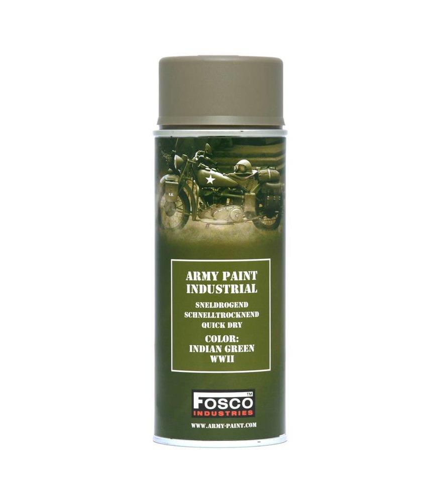 Fosco Spray Paint Indian Green WWII 400ml